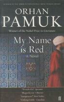 Couverture du livre « MY NAME IS RED » de Orhan Pamuk aux éditions Faber Et Faber