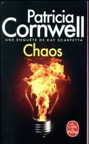Couverture du livre « Chaos » de Patricia Cornwell aux éditions Lgf