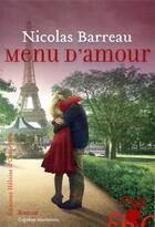 Couverture du livre « Menu d'amour » de Nicolas Barreau aux éditions Heloise D'ormesson