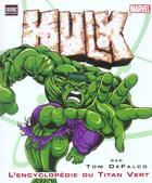 Couverture du livre « L'encyclopédie du Titan Vert » de Tom Defalco aux éditions Semic