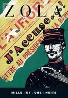 Couverture du livre « J'accuse » de Émile Zola aux éditions Mille Et Une Nuits