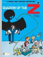 Couverture du livre « Spirou & Fantasio adventures T.15 ; shadow of the Z » de Greg et Jidehem et Andre Franquin aux éditions Cinebook