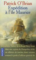 Couverture du livre « Expedition A L'Ile Maurice » de Patrick O'Brian aux éditions Pocket