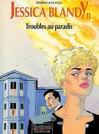 Couverture du livre « TROUBLES AU PARADIS » de Jean Dufaux et Renaud aux éditions Dupuis