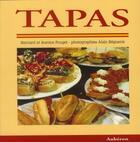 Couverture du livre « Tapas » de Jeanine Pouget et Bernard Pouget et Alain Beguerie aux éditions Auberon