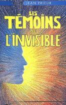 Couverture du livre « Les témoins de l'invisible » de  aux éditions Lanore