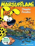 Couverture du livre « Marsupilami T.22 ; Chiquito Paradiso » de Batem et Stephane Colman et Andre Franquin aux éditions Marsu Productions