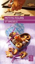 Couverture du livre « Petits fours et bredele » de Josiane Syren aux éditions Saep