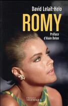 Couverture du livre « Romy Schneider » de David Lelait-Helo aux éditions Telemaque
