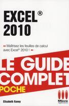 Couverture du livre « Excel 2010 » de Elisabeth Ravey aux éditions Micro Application