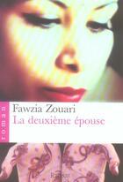Couverture du livre « La deuxième épouse » de Fawzia Zouari aux éditions Ramsay
