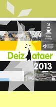 Couverture du livre « Deiziataer 2013 » de Collectif aux éditions Skol An Emsav