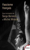 Couverture du livre « Fascisme français ? » de Michel Winock et Serge Berstein aux éditions Perrin