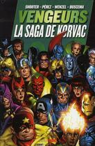 Couverture du livre « Vengeurs ; la saga de Korvac » de Collectif aux éditions Panini