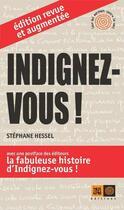 Couverture du livre « Indignez-vous ! » de Stephane Hessel aux éditions Indigene
