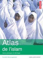Couverture du livre « Atlas de l'islam ; lieux, pratiques et idéologie » de Anne-Laure Dupont aux éditions Autrement