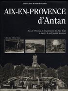 Couverture du livre « Aix-en-Provence d'antan » de Isabelle Rauch aux éditions Herve Chopin