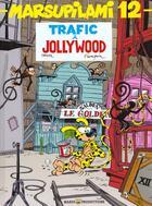 Couverture du livre « Marsupilami T.12 ; trafic à Jollywood » de Batem et Andre Franquin aux éditions Marsu Productions