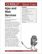 Couverture du livre « Ajax and Web Services » de Mark Pruett aux éditions O Reilly