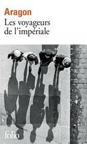 Couverture du livre « Les voyageurs de l'impériale » de Louis Aragon aux éditions Gallimard