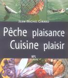 Couverture du livre « Pêche plaisance, cuisine plaisir » de Girard/Jean-Michel aux éditions Nouvelles Presses Du Languedoc