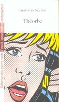 Couverture du livre « Theorbe » de Christian Simeon aux éditions Avant-scene Theatre