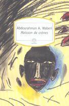Couverture du livre « Moissons de crânes » de Waberi Abdourahman A aux éditions Motifs
