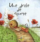 Couverture du livre « Une drôle de course » de Celine Lamour-Crochet et Marie Chiron aux éditions Editions Du Coprin