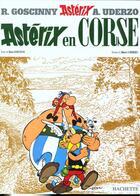 Couverture du livre « Astérix t.20 ; Astérix en Corse » de Albert Urderzo et Rene Goscinny aux éditions Albert Rene