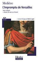 Couverture du livre « L'Impromptu De Versailles » de Moliere aux éditions Gallimard