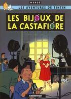 Couverture du livre « Les aventures de Tintin T.21 ; les bijoux de la Castafiore » de Herge aux éditions Casterman