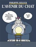 Couverture du livre « Le Chat T.9 ; l'avenir du chat » de Philippe Geluck aux éditions Casterman