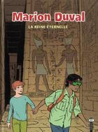 Couverture du livre « Marion Duval T.22 ; la reine éternelle » de Louis Alloing et Pascale Bouchie et Yvan Pommaux aux éditions Bd Kids