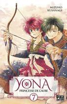 Couverture du livre « Yona, princesse de l'aube T.7 » de Mizuho Kusanagi aux éditions Pika