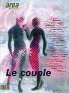 Couverture du livre « Area ; Le Couple A L'Oeuvre » de Area aux éditions Descartes & Cie