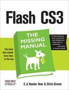 Couverture du livre « Flash CS3 ; the missing manual » de Emily A Vander Veer aux éditions O Reilly