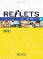 Couverture du livre « Reflets 2 - livre de l'eleve » de Guy Capelle aux éditions Hachette Fle
