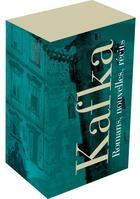 Couverture du livre « Oeuvres complètes t.1 et t.2 ; nouvelles et récits, romans » de Franz Kafka aux éditions Gallimard