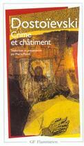 Couverture du livre « Crime et châtiment » de Fedor Mihailovic Dostoevskij aux éditions Flammarion