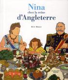 Couverture du livre « Nina chez la reine d'Angleterre » de Rutu Modan aux éditions Actes Sud Junior