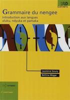 Couverture du livre « Grammaire du nengee » de Laurence Goury aux éditions Ird