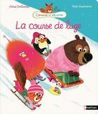 Couverture du livre « La course de luge » de Marc Boutavant et Astrid Desbordes aux éditions Nathan