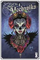 Couverture du livre « Lady Mechanika T.4 ; la dama de la muerte » de Peter Steigerwald et Joe Benitez aux éditions Glenat Comics