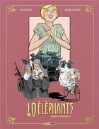 Couverture du livre « 40 éléphants T.3 ; Dorothy, la poinçonneuse » de Kid Toussaint et Virginie Augustin aux éditions Bamboo