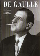 Couverture du livre « De gaulle » de Eric Branca aux éditions Moliere