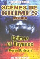 Couverture du livre « Crimes et voyance » de Goldstein S aux éditions Scenes De Crime