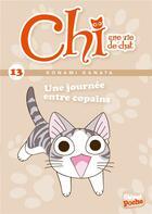 Couverture du livre « Chi ; une vie de chat T.13 ; une journée entre copains » de Kanata Konami et Jerome Cousin et Petronille aux éditions Glenat Jeunesse