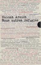 Couverture du livre « Nous autres réfugiés » de Hannah Arendt aux éditions Allia