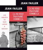 Couverture du livre « Ça ne s'est pas passé comme ça t.1 et t.2 » de Jean Failler aux éditions Palemon