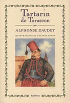 Couverture du livre « Tartarin de tarascon » de Alphonse Daudet et Corinne Simon aux éditions Auberon